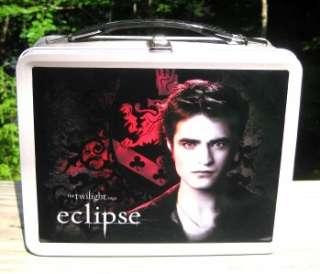 ECLIPSE Twilight EDWARD Cullen Crest LUNCHBOX & Thermos