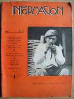 INFORMACION #27 1938 SPANISH CIVIL WAR MAGAZINE