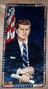 political memorabilia john f kennedy wall hanging 1964