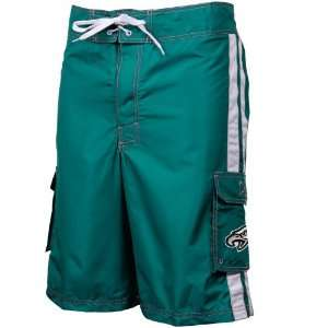 Eagles Team Fashion Boardshorts   Midnight Green: Sports & Outdoors