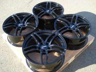 C300 C280 SLK320 E320 CLK320 S430 AMG SLK CLK Black Wheels Rims