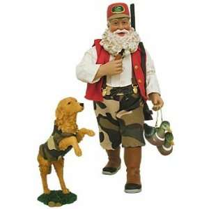 Fabriche Duck Hunter Hunting Santa Collectible: Everything