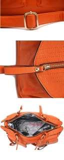 2012 Korean style women PU leather handbag Satchel Purse bag tote