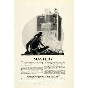 1922 Ad Indian Chief American Radiator Co Herbert Paus New