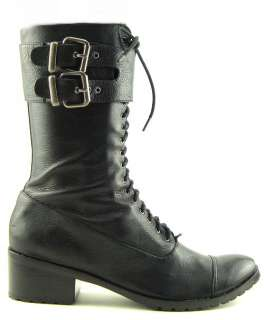 DOLCE VITA BRENT Black Womens Shoes Ankle Boots 8
