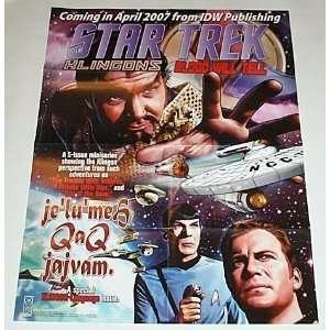 Star Trek Klingons Blood Will Tell IDW Publishing 24 by