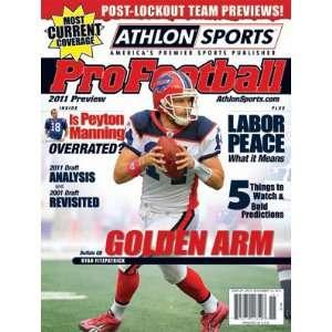 2011 Athlon Sports NFL Pro Football Magazine Preview  Buffalo Bills