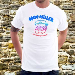 MAC MILLER Incredibly Dope T Shirt Rap Hip Hop Tee A7w