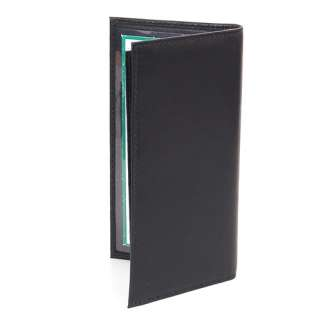 Leather Checkbook Wallet Card Case Removable Check Cover Allin1 Pocket