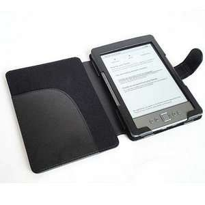 LEATHER CASE COVER PROTECTOR WALLET FOR  KINDLE 4 4G