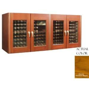 Cellar Credenza   Glass Doors / Honey Rubbed Maple Cabinet: Appliances
