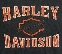 DAVIDSON Vintage SWEATSHIRT 80s shirt VAN NUYS Biker MOTOR CYCLE