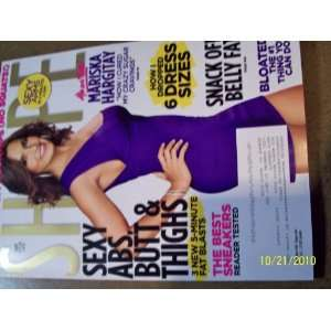 Shape November 2010 Mariska Hargitay Books