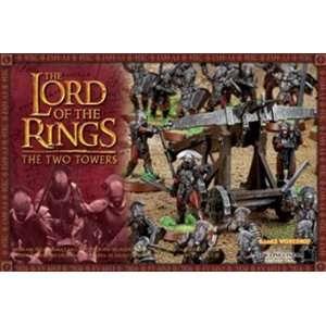 Games Workshop Lord of the Rings Uruk Hai Siege Assault