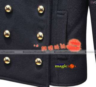 Femme Trench Court Double Boutonnage Manteau Veste Coat Jacket 4