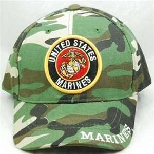 Cap   United States Marine Corps USMC (Camouflage) SCP26