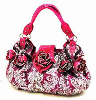 New Quality Zebra Flower Penelope Bag, Black