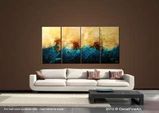 ORIGINAL abstract painting modern fine art CONTEMPORARY CANVAS ART