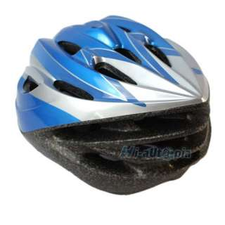 New Universal Sports Bike Bicycle Cycling Riding Blue Helmet Size M