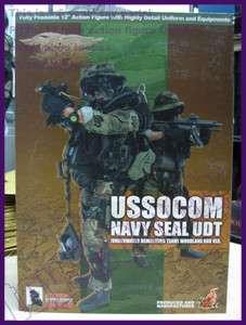 scale HOT TOYS USSOCOM NAVY SEAL UDT WOODLAND BDU Ver
