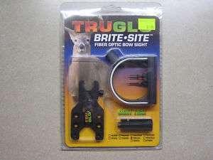 TruGlo Brite Site Fiber Optic Bow Sight TG550L 3 Pin