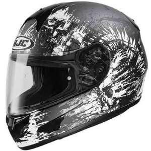 HJC CL 16 Narrl Full Face Motorcycle Helmet MC 5F Matte Black Extra