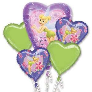 Tinkerbell Birthday party decoration balloon bouquet: Toys & Games