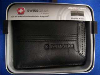 NWT Wenger Swiss Army Slimfold w/Pull Out ID Holder $40