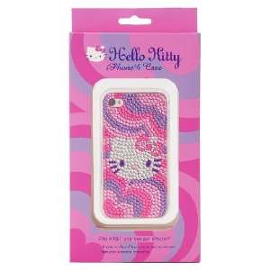 Hello Kitty Bling Pink iPhone 4 Case Cell Phones