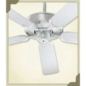 All Weather Allure Patio White Energy Star 52 Outdoor Ceiling Fan