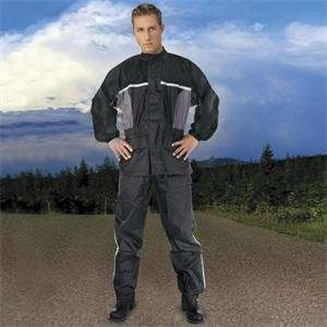 River Road High N Dry Two Piece Rainsuit   2X Large/Black