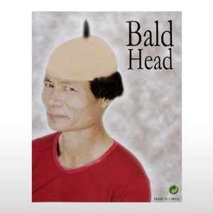 Bald Head Wig W/ Hair Toys & Games