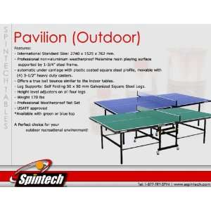 Spintech Pavilion   Outdoor Table Tennis Table Sports