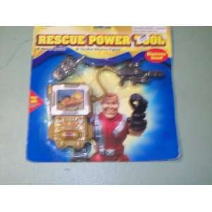 Action Figure Rescue Power Tool   Electronic Sound   NEW
