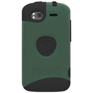 GREEN TRIDENT AEGIS SERIES IMPACT SHELL CASE COVER for HTC Sensation