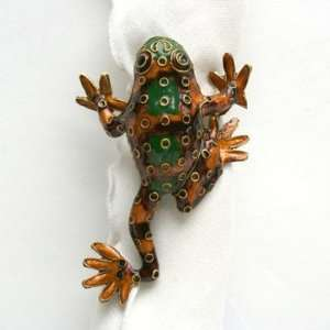 Tree Frog Napkin Ring