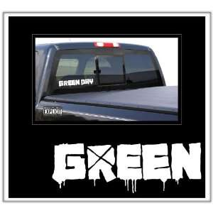 Green Day Large Vinyl Decal