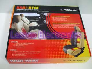New Radi Heat Heated Seats Car Auto Kit Upper and Lower
