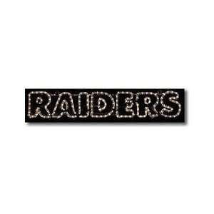 Oakland Raiders LED Team Logo Light