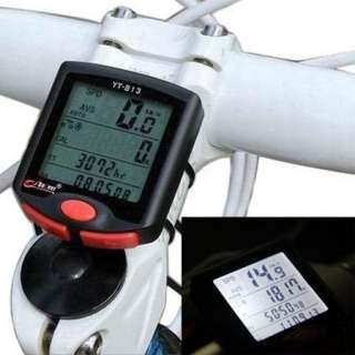 Cycling Bicycle Bike 24 functions LCD Computer Odometer Speedometer