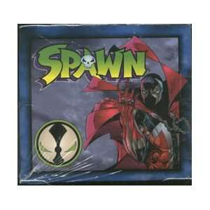 Spawn Trading Card Factory Sealed Box: Toys & Games