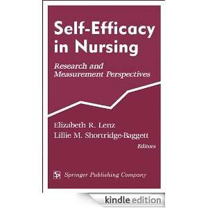 Self Efficacy In Nursing: Research and Measurement Perspectives