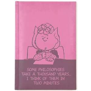 Peanuts Sally Quote Pink Journal Diary, Fully Embossed