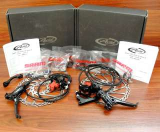 Avid Elixir X0 X.0 Front&Rear Disc Brake Set Black 185