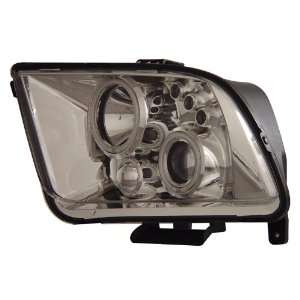FORD MUSTANG 05 07 PROJECTOR HEADLIGHTS HALO CHROME CLEAR