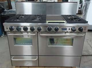 FIVESTAR 48 PRO STYLE DUAL FUEL LP GAS RANGE STAINLESS TPN5377BW