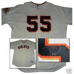 Tim Lincecum Signed San Francisco Giants Auth. Jersey