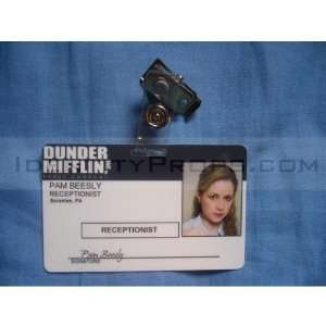 The Office Dunder Mifflin Identity Cards Pam Beesly