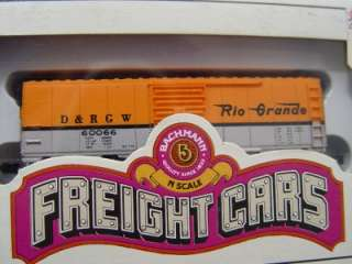 Lot of 3 N Scale BACHMANN Freight Cars new old stock in boxs