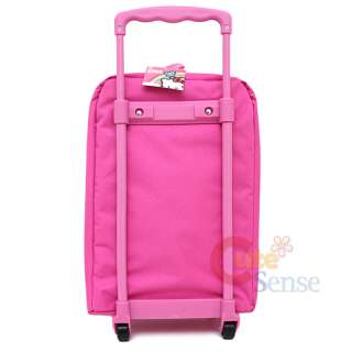 Sanrio Hello Kitty Hand Carry Luggage Pink Face Roller Trolley Bag 16